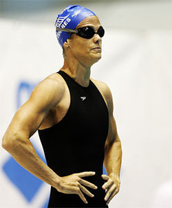Dara Torres: Swimming upstream.