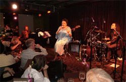Malena Burke is among the many local jazz artists who have performed at Sandoval&#039;s club
