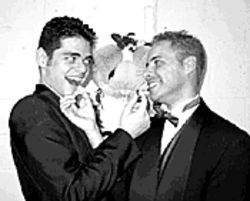 Marrying men: Jon and Juan get hitched, sort of