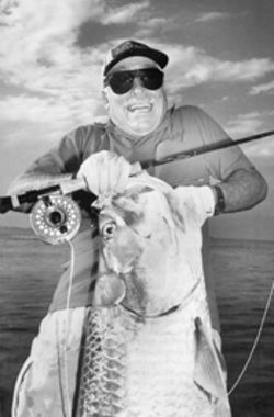 Fishing legend Stu Apte has collected his share of trophies and memories