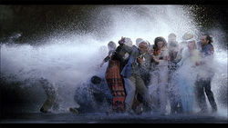 A still from Bill Viola's The Raft at CiFo