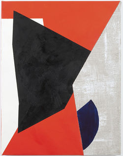 Sarah Crowner's Geometric Composition #7 at Nicelle Beauchene Gallery