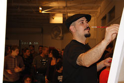 Andr&amp;eacute;s Correa is an Art Battles veteran.