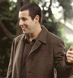 Adam Sandler: Maybe Apatow's critical fairy dust will rub off on him.