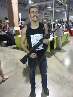 At a recent Miami gun show, Eric Faden hoped to capitalize on the bullish market for rifles.