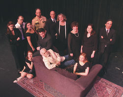 The outstanding cast of Actors' Playhouse's August: Osage County