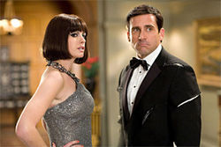 Anne Hathaway and Steve Carell: Surprisingly smart.