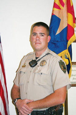 "Cochise County sheriff's deputy Joe Gilbert says about the undocumented: ""It takes courage tromping through this desert for days knowing you can die at any point in the heat or cold or at the hands of a coyote."""