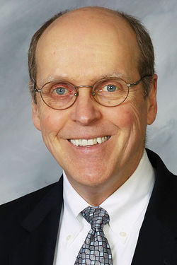 Bill Hancock, executive director of the BCS, defends the college bowl system.