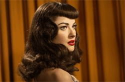 Gretchen Mol inhabits her Bettie Page with innocence and verve