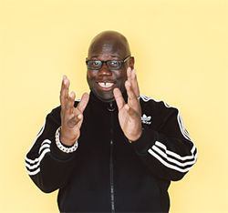 Carl Cox must be happy to be back.