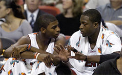 Dorell Wright can learn a lot from his good friend Dwyane Wade