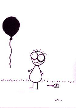 A twisted tale of a boy and his balloon