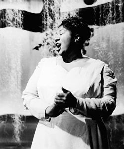 M Ensemble's muse: the legendary Mahalia Jackson