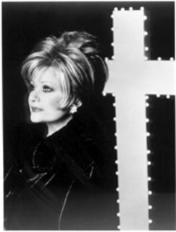 Her cross to bear: Tammy Faye Bakker-Messner, forgiven and, for the most part, forgotten