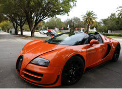 The $2.5 million Bugatti Veyron Grand Sport Vitesse