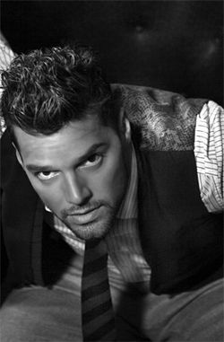 Ricky Martin bets you'll blink first