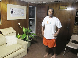 Broadmoor resident Walter Frazier lost his wife, Ethel, to pancreatic cancer in May.
