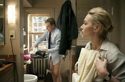 Christoph Waltz and Kate Winslet play posh pair Alan and Nancy.