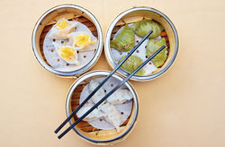 Chef Philip Ho's dim sum three ways. See more photos.