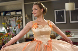 Katherine Heigl: Always a bridesmaid, recently a bride.