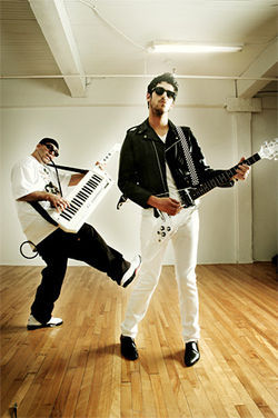 Bust out your fancy footwork for Chromeo.