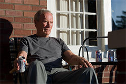 Eastwood as Walt Kowalski