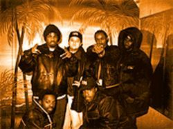 Rap group the Lords of the Underground, and Jimmy Sabatino