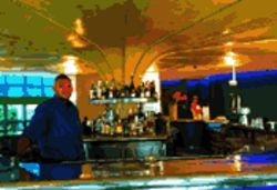 Julio Lebon at the bar of Breez: Ready for buzz over Billboard to fill the room