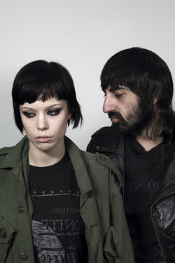 Crystal Castles' Alice Glass and Ethan Kath