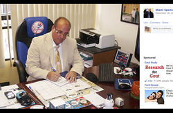 Carlos Perez claims to have nothing to do with his Cuban baseball clients&#039; defections.