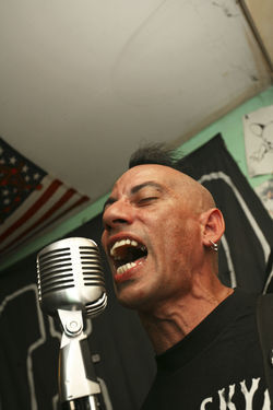 Despite his age and minimum-wage job, Gil still chases Cuban punk's elusive audience.