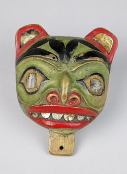 "From ""Spiritual Healing: Shamans of the Northwest Coast"" at the Frost Art Museum."