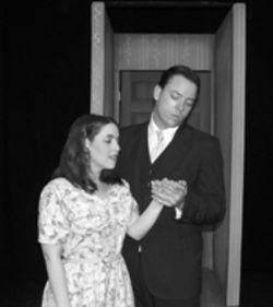 Shaun Marie Levin and Matthew Chapman in Comedy of Errors