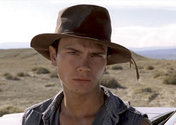 River Phoenix stars in Dark Blood.