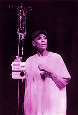 Vivian Bearing (Judith Light): Facing cancer in rhyme and verse
