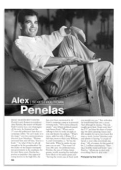 "A proud moment for the citizens of Miami-Dade County: Penelas is named ""sexiest politician"" by People magazine"