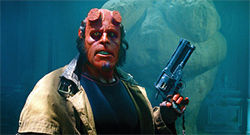 Ron Perlman: Gunning for mankind.