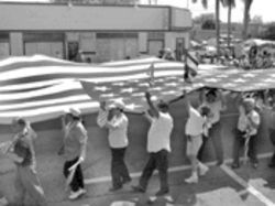 E pluribus non sequitur: A Little Havana demonstration linked support of the war in Iraq with opposition to dialogue in Cuba