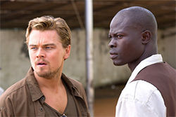 Blood Diamond: Hollywood's pitch for cubic zirconium.