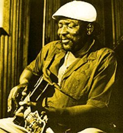 "Bluesman Big Jack Johnson, singing about that ""Crack Headed Woman"""