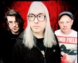 Older and wiser: Dinosaur Jr.'s Lou Barlow, J. Mascis, and Murph.