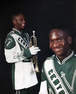 Jay Maxwell was a star in the 265-strong Central High marching band.