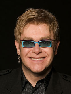 Sir Elton John: Still serious after all these years.