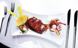Essensia&#039;s miso-glazed Atlantic black cod
