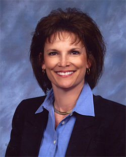 Gissendanner's opponent is Republican  Denise Grimsley.