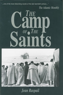 John Tanton's Social Contract Press publishes the white nationalist novel The Camp of the Saints.