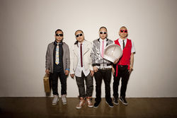 Far East Movement's waiting for its free private plane.