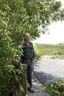 Glades airboat captain Jesse Kennon witnessed the aftermath of Tatiana Furry&#039;s fatal accident.