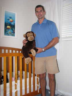 Christopher Dahm has kept his daughter Gabrielle's room just as it was when she was kidnapped by her mother almost two years ago.